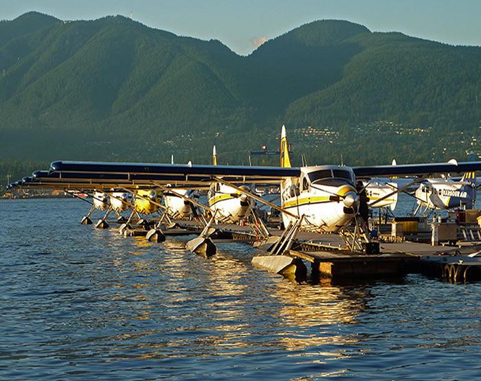 Floatplanes, Vancouver Harbour